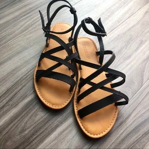 Strappy Bamboo Sandals